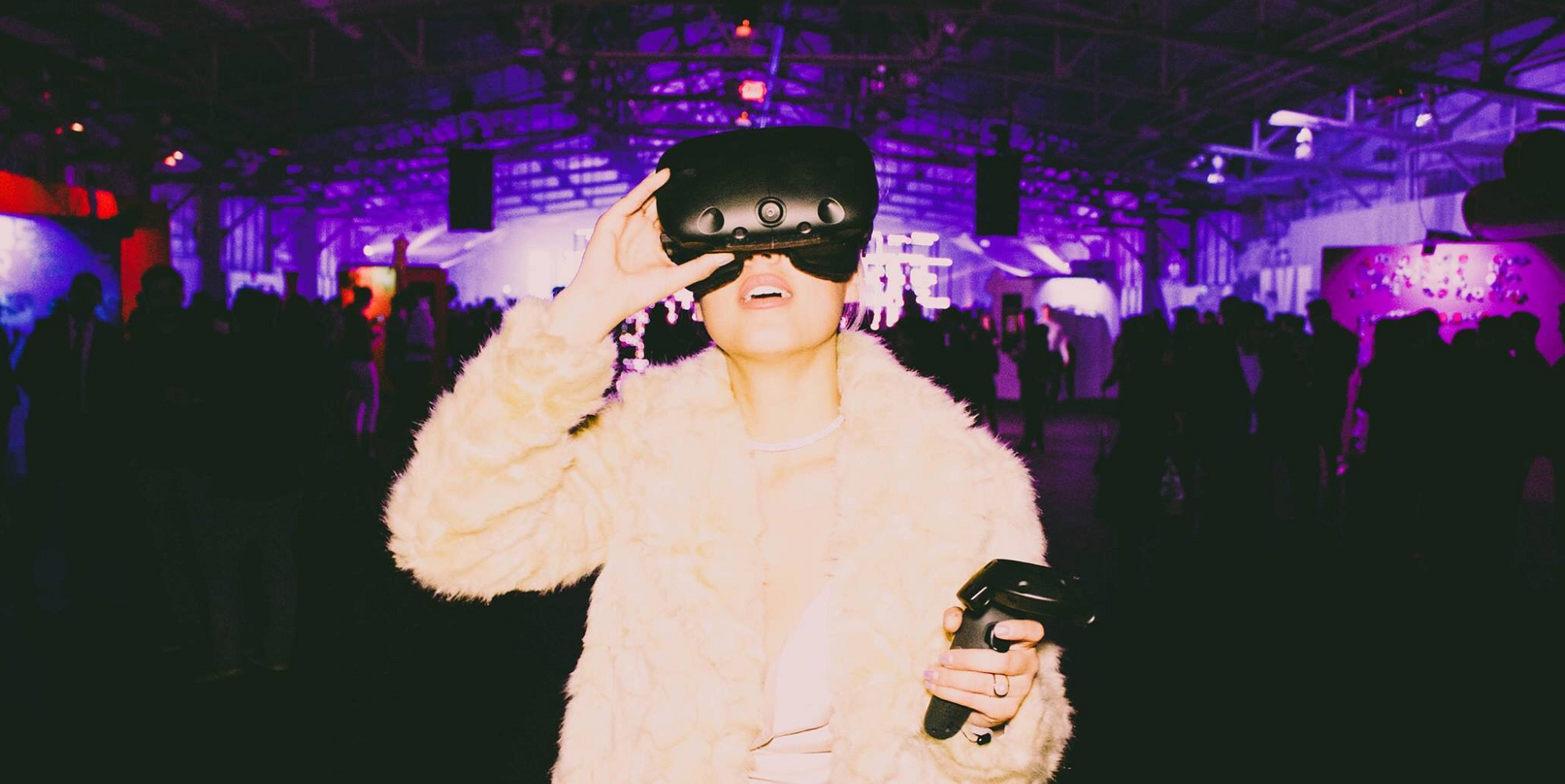The Vive was featured at one of Eye Heart's recent events for NYE.
